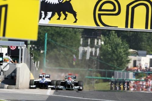 GP da Hungria de Formula 1 , Budapest, Hungaroring, em 2010 - blog.f1girlsonline.com
